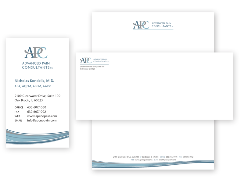 Physician Custom Stationery Design