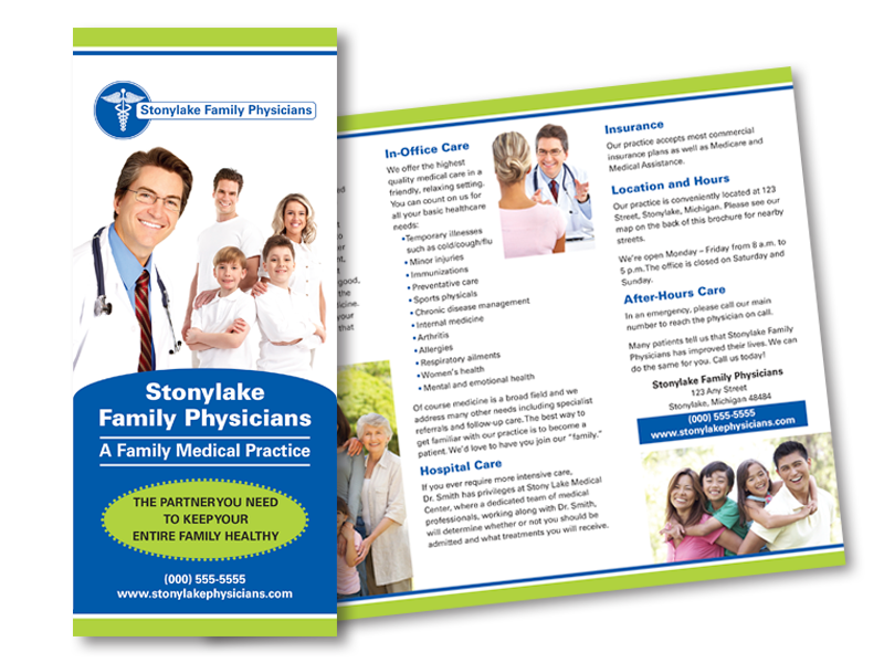 Physician Practice Marketing Brochure